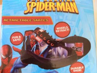 Amazing Spiderman Skates