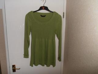 Miss Selfridge Green Jumper
