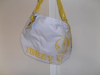 White Waterproof Large Tweety